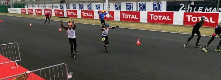 Les événements Loisir sportif de l'ASGUM. 24h du Mans roller en catégorie Découverte