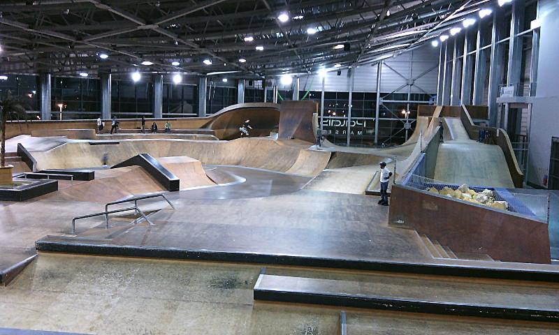 Les sessions au skatepark en mai