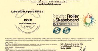 ASGUM labellisé FFRS 2019