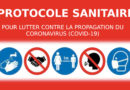 Protocole sanitaire de l'ASGUM