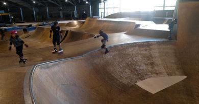 Dernière session skatepark au POMGE