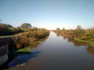 Via Rhôna entre Arles et Port Saint Louis. Octobre 2019