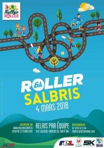 affiche 6h roller sologne salbris 2018